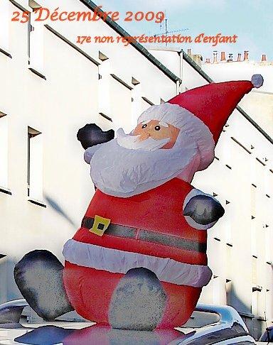 Noël 17e non représentation d'enfant